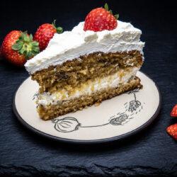 Carrot cake - mrkvový dort