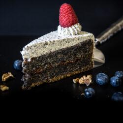 Makový dort bezlepkový